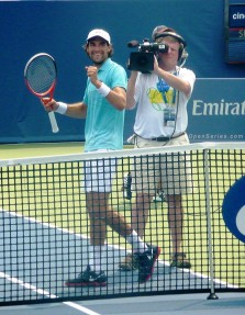 Chardy (after beating Murray)