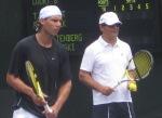 Nadal and Toni