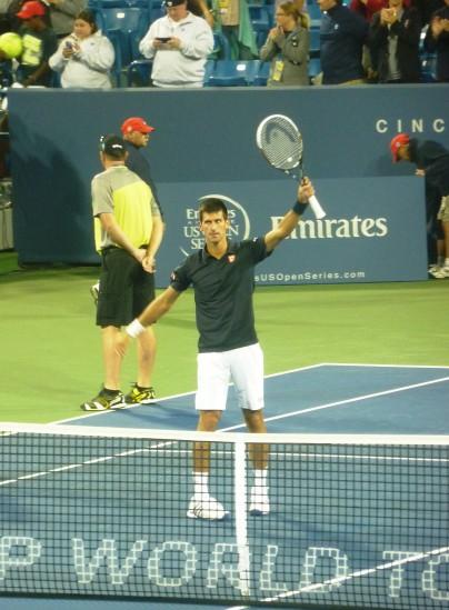 Djokovic wins