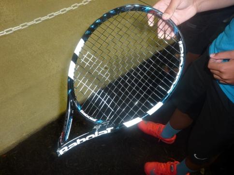 Fognini racket